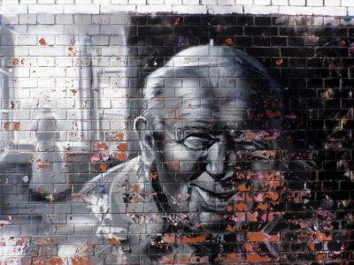 Cuadro religión graffitis