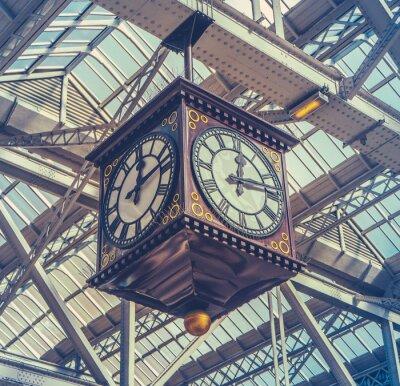Cuadro Reloj de la estación de la vendimia