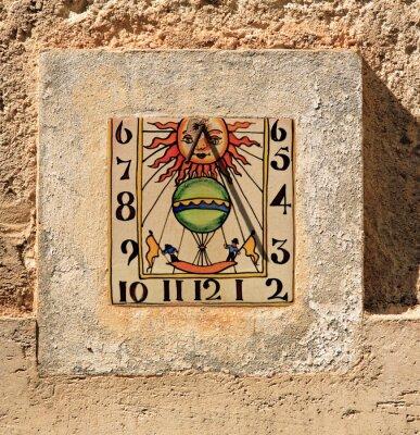 Cuadro reloj de sol