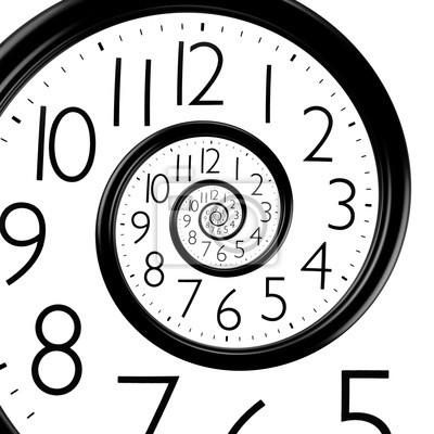 Tiempo CuadroReloj Del Infinito Espiral uTwkPZXiO