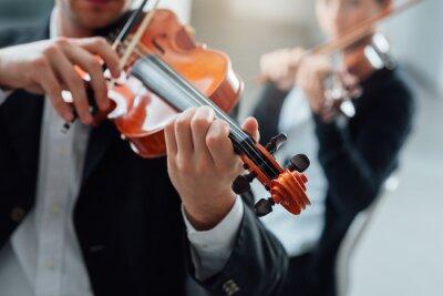 Cuadro Rendimiento dúo violín