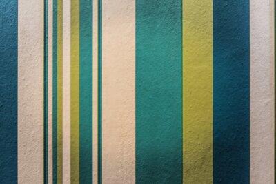 Cuadro Resumen colorido de fondo vintage con rayas patrón en la pared