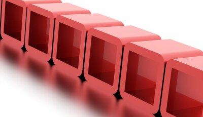 Cuadro Resumen cubos geométricos concepto prestados