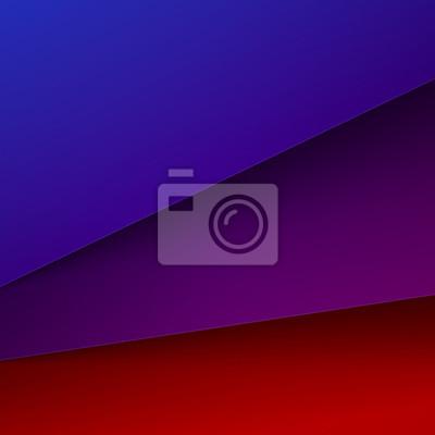 Resumen De Fondo Con Capas De Papel De Color Rojo Azul Y Morado