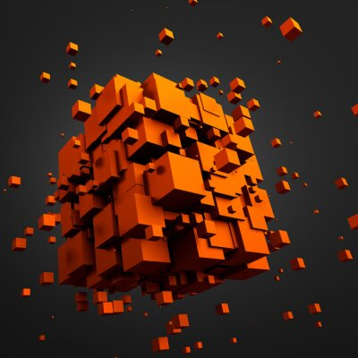 Cuadro Resumen de representación 3D de cubos de vuelo.