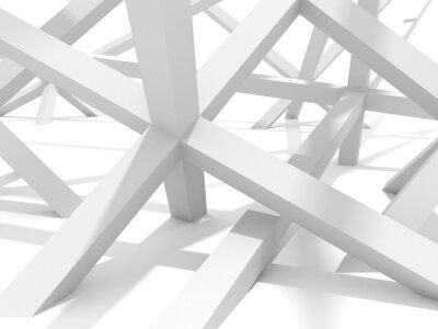 Cuadro Resumen Futurista Arquitectura Elemento del diseño del fondo