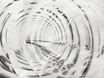 Cuadro Resumen ilustración de fondo blanco espiral