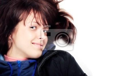 Retrato de un modelo de estilo profesional. Tema: belleza, moda