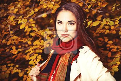 Retrato del otoño de