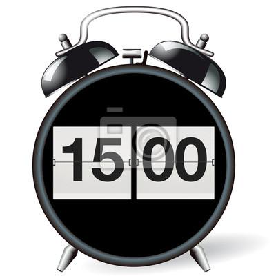 De 15 CuadroRetro Alarma 00 Reloj Hora 3AR4jL5