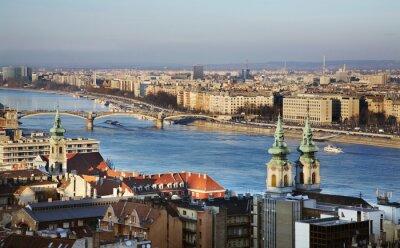 Cuadro Río Danubio en Budapest. Hungría