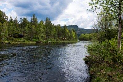 Cuadro Río en Noruega
