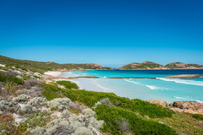 Cuadro Rocas en la playa, Lucky Bay, Esperance, Australia Occidental