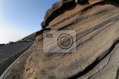 Rocas volcánicas antiguas