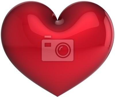 Rojo total Elegance símbolo del corazón. El amor salvará el mundo!
