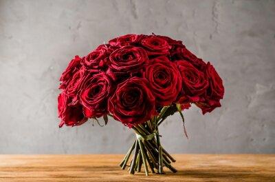 Cuadro rosas rojas