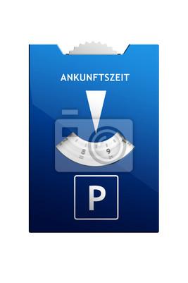 Rotación de disco de estacionamiento