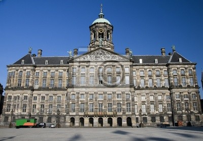 Cuadro Royal Amsterdam Dam Square palacio holanda