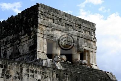 Cuadro ruinas en Chichén Itzá
