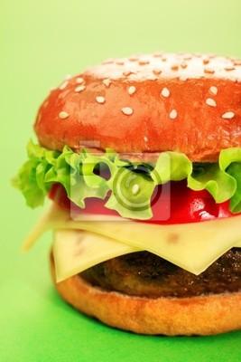 sabrosa hamburguesa