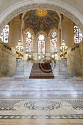 Sala Principal del Palacio de la Paz en La Haya, Países Bajos