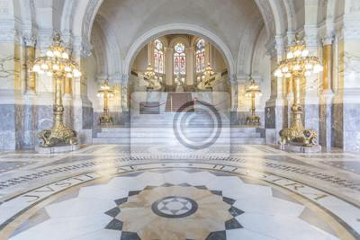 Sala principal Palacio de la Paz y la escalera