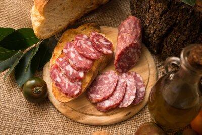 Cuadro Salame italiano