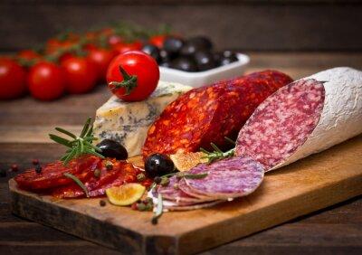 Cuadro Salchicha del salami