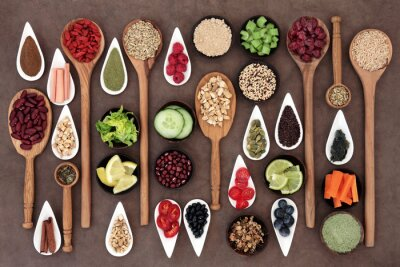 Cuadro Salud Alimentaria Sampler