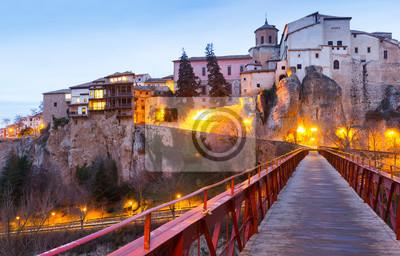 San Pablo y el puente Casas colgadas en Cuenca