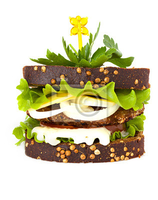 Cuadro sándwich aislados