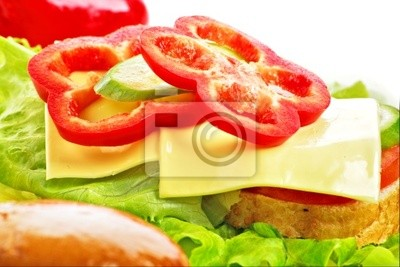 sándwich con pimentón