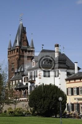 Schloss und Schlossturm en Weinheim