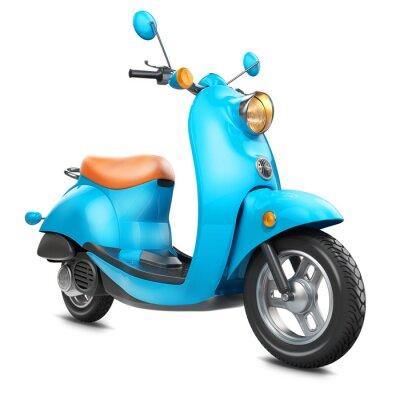 Cuadro Scooter retro clásico
