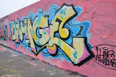 Cuadro Segmento de mur à Berlin