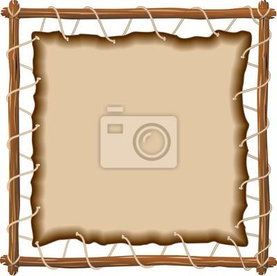Sfondo di cuoio do telaio-cuero en el marco de fondo-vector pinturas ...