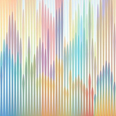 Cuadro sfondo strisce colorate