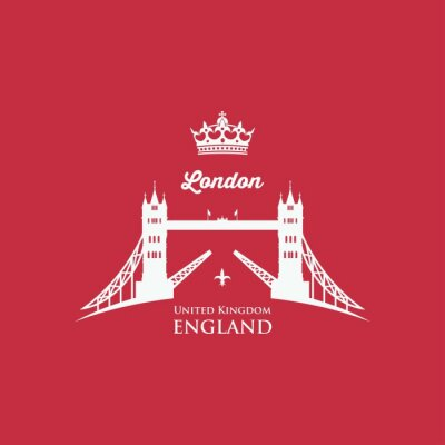 Cuadro Símbolo del puente de la torre de Londres