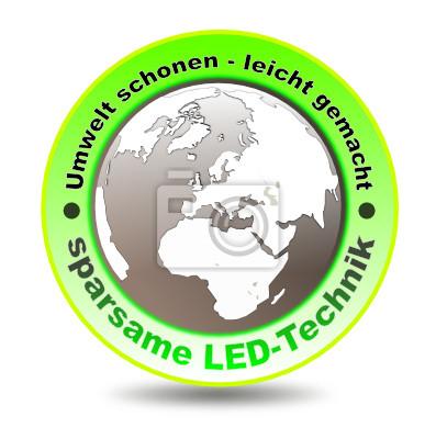Símbolo Sparsam LED