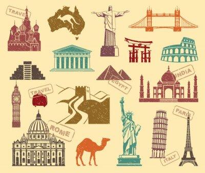 Cuadro Símbolos de viajes