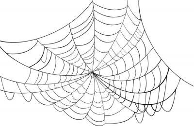 Cuadro simple ilustración web negro