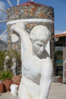 Skulptur Diskuswerfer