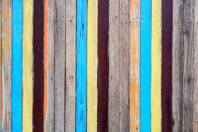 Cuadro Slat colorido