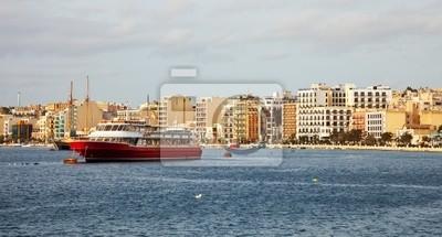 Sliema desde el lado del mar. Malta