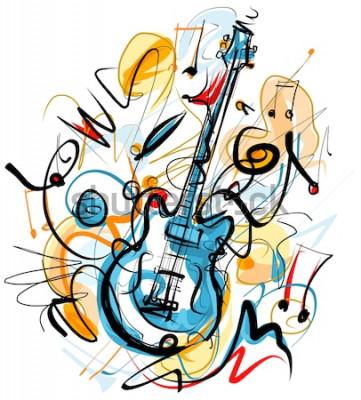 Cuadro Solo de guitarra