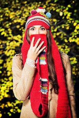 sombrero de la bufanda