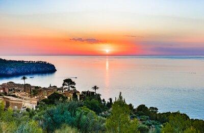 Sonnenuntergang am Meer Mallorca España