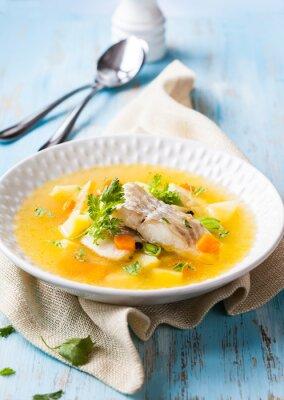 Cuadro Sopa de pescado