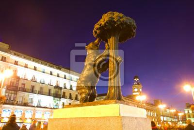 soportar el madroño - símbolo de Madrid, España