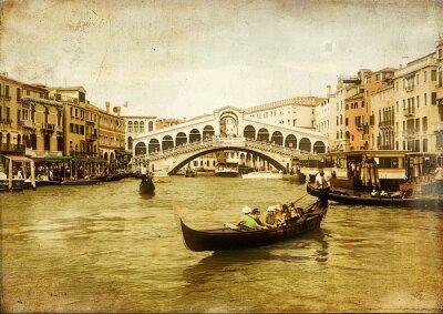 sorprendente Venecia-foto artística de tonos